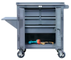 Free Rolling Maintenance Cart -- 3-TC-240-4/5-1DB-VS