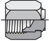 TRTX Tube End Reducer Steel -- 8-4 TRTX-S