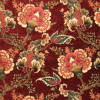 Elegant Branching Floral Chenille Fabric -- K-Victoria -- View Larger Image