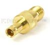 SMA Female (Jack) to 1.0/2.3 Jack Adapter, Gold Plated Brass Body, 1.15 VSWR -- SM5525 - Image