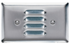Louver, One Gang Horizontal, 302 Stainless Steel -- SS760I