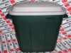 RUBBERMAID 2979 ( 30-GAL. REFUSE CONTAINEREMERALD GRE ) -Image