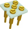 Relay Sockets, Solder Dip/5 Pin -- FSE1A-5P-BL52 - Image