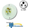 Leviton Flanged Inlet Receptacle -- 5278-C