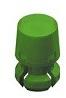 T-1 3/4 Lens Cap-Green -- 8663 - Image