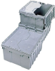 Attached-Lid HDPE Containers -- GO-47152-10