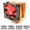 SilenX EFZ-92HA3 Effizio CPU Cooler - 92mm Fan, LGA 775, LGA -- EFZ-92HA3