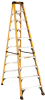 10' Fiberglass Stepladder 375 lbs. Load Capacity -- DXL3410-10