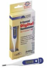 9 Sec Rigid Tip Digital Thermometer -- 4WPE8
