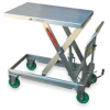 Scissor Lift Cart,Raised H 33 1/2 In -- 2TKY3
