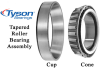 Tapered Roller Bearing -- Series M 822000