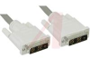 Cable Assembly, DVI-D Single Link, Male/Male w/Dual Ferrite, 5 ft., Fully Molded -- 70126400 - Image