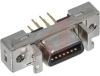 .050 Mini D Ribbon Connector (14 pos) Receptacle Vertical Boardmount Shielded -- 70114252 - Image