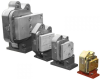 Fail Safe Caliper Guide Rail Brake -- MK-350