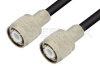 HN Male to HN Male Cable 36 Inch Length Using 93 Ohm RG62 Coax -- PE34438LF-36 -Image