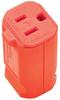 Pass & Seymour® -- MaxGrip M3 Connector, Orange - PS5969O