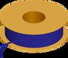 Flexible Tubing, 90 Shore A, Blue Transparent -- AP02T091PEBLT