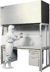 304 Stainless Steel or CR Steel Hood safely vents noxious or hazardous fumes away from the work surface