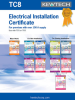 Electrical Installation Certificates -- 7530255