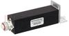4.1/9.5 Mini DIN Male (Plug) Termination (Load) 20 Watts To 2.7 GHz, Low PIM Black Anodized Aluminum, 1.33 VSWR -- FMTR1022 -Image