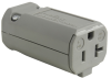 Pass & Seymour® -- MaxGrip M3 Connector, Gray - PS5369GRY - Image