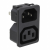 Power Entry Connectors - Inlets, Outlets, Modules - Unfiltered -- 486-2100-ND