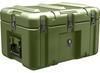 Pelican AL2013-0903 Single Lid Flat Shipping Case - No Foam - Olive Drab -- PEL-AL2013-0903-RP-137 - Image