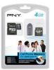 PNY 4GB 4-IN-1 Mobile Media Kit Flash Memory Card -- P-SDU4G4IN1-FS