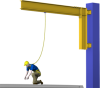 Tether Track™ Fall Arrest Swing Arm Systems