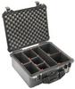 Pelican 1550 Case with TrekPak Dividers - Black | SPECIAL PRICE IN CART -- PEL-015500-0050-110 -Image