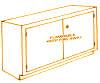 Standard Steel Laboratory Cabinet, Flammables Storage Base Cabinet -- 200-FS Series - Image