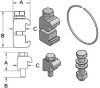 ISO-Universal Clamps, Bolts & Rings -- Series 76 Retaining Rings