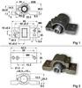 KM Series 1 Ball Nuts & Mounts (metric) -- S6653HM2130100 -Image