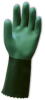 ChemGrip(TM) Two-Tone Green, Granulated Bisque Finish, Two-Piece Cotton Lining, 12