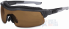 Uvex ExtremePro Safety Glasses with Espresso Dura-Streme -- SX0301D