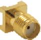 Gold SMA Female Surface-mount Connector -- CONSMA001-SMD-G