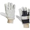 Leather Palm w/ Knit Wrist Gloves - Large -- GLV1020L -- View Larger Image