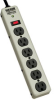900-Joule Commercial-Grade Surge Suppressor with Illuminated On/Off Switch, Diagnostic LEDs, and a Heavy-duty Metal Housing -- PM6SN1