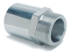 Page Series Industrial Hydraulic Crimp Fitting – SS Sanitary Male NPTF Pipe Rigid -- 24-24MP-S - Image