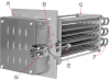 Tubular Duct Heaters TDH Series - Image