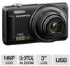 Olympus VR-320 228125 Digital Camera - 14 Megapixels, 4x Dig -- 228125