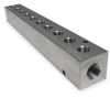Manifold,1/4 In Inlet,10 Outlets,SS -- 2KHL6 - Image
