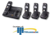 Panasonic 5.8GHz 4 Handset ITAD with Dual Keypad -- KX-TG6074B -- View Larger Image