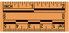 Orange Fluorescent Adhesive Scales