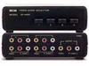 A/V RCA 4x1 SWITCH -- 90-20100