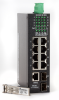 8 Port Industrial PoE Switches Managed 10/100/1000 Gigabit Fiber Optic Switch -- SF70860M/SF70860MP