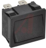 Switch, Rocker, Miniature, 2 POLE, ON-ON, NO LEGEND -- 70207319 - Image