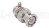 50 Ohm BNC Bulkhead Plug (3/8