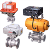 V-Port Ball Valves -- V-Series