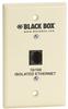 Wallplate Data Isolator, Plastic, 10/100 -- SP4011A